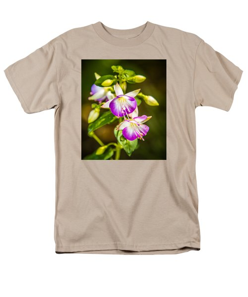 Purple Glow Men's T-Shirt  (Regular Fit) by Jerry Cahill