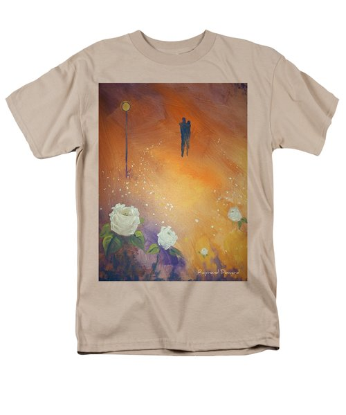 Men's T-Shirt  (Regular Fit) featuring the painting Purpose by Raymond Doward
