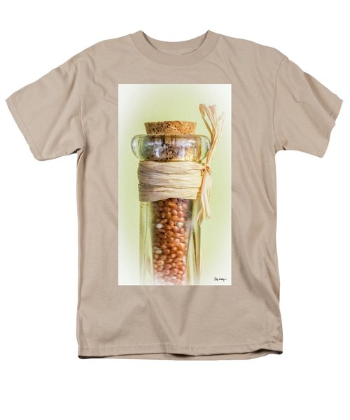 Put A Cork In It Men's T-Shirt  (Regular Fit) by Skip Tribby