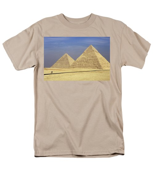 Pyramids At Giza Men's T-Shirt  (Regular Fit) by Mark Greenberg