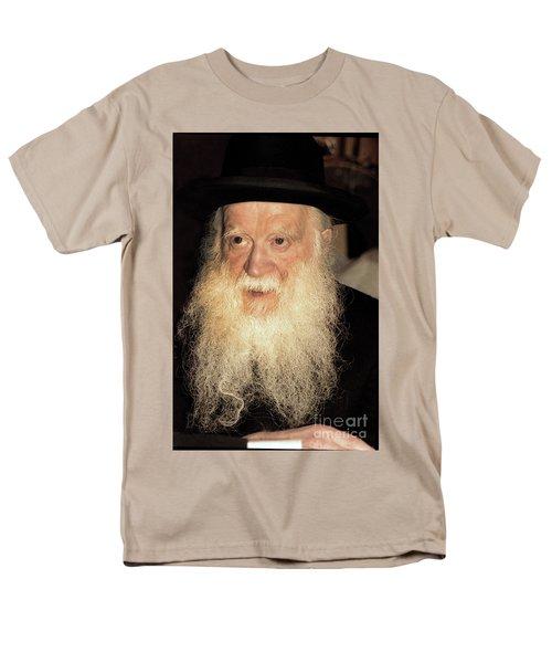 Men's T-Shirt  (Regular Fit) featuring the photograph Rabbi Yehudah Zev Segal by Doc Braham