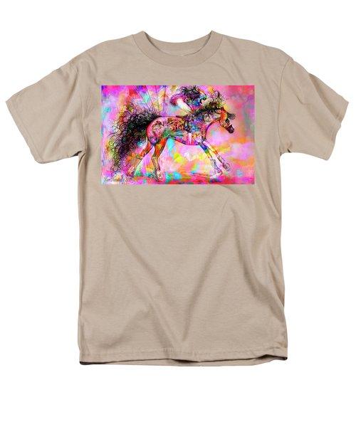 Racing For Time Men's T-Shirt  (Regular Fit) by Kari Nanstad