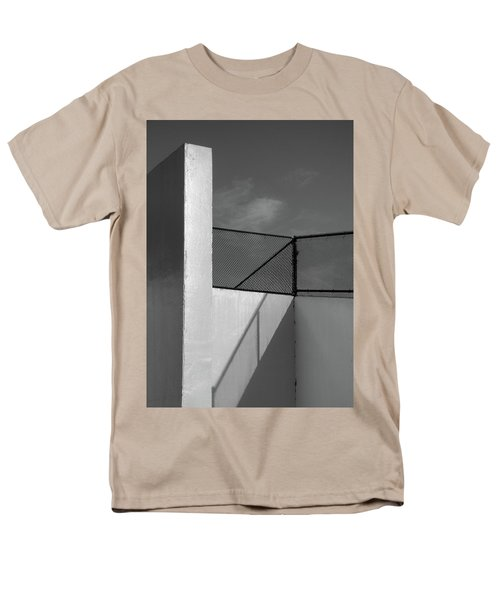 Men's T-Shirt  (Regular Fit) featuring the photograph Racquetball IIi  by Richard Rizzo