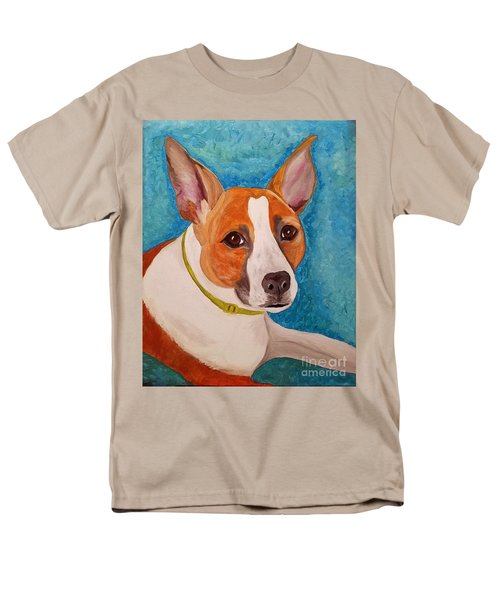 Men's T-Shirt  (Regular Fit) featuring the painting Radar  by Ania M Milo
