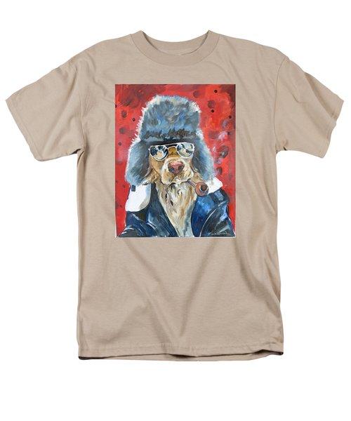 Men's T-Shirt  (Regular Fit) featuring the painting Ralph by P Maure Bausch