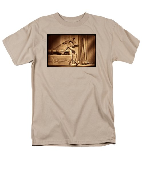 Ranch Tools  Men's T-Shirt  (Regular Fit) by American West Legend By Olivier Le Queinec