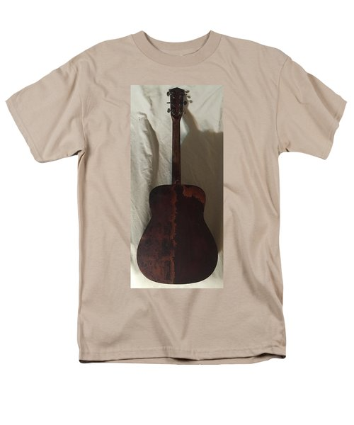 Rat Guitar 2 Back Men's T-Shirt  (Regular Fit) by Steve  Hester