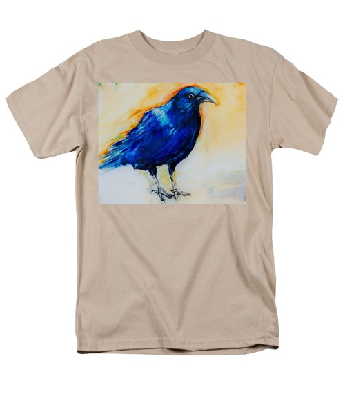 Crow Men's T-Shirt  (Regular Fit) by Jean Cormier