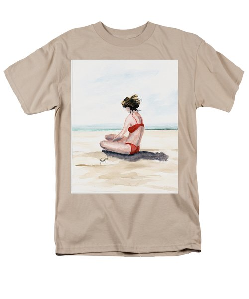 Red Bikini Men's T-Shirt  (Regular Fit)
