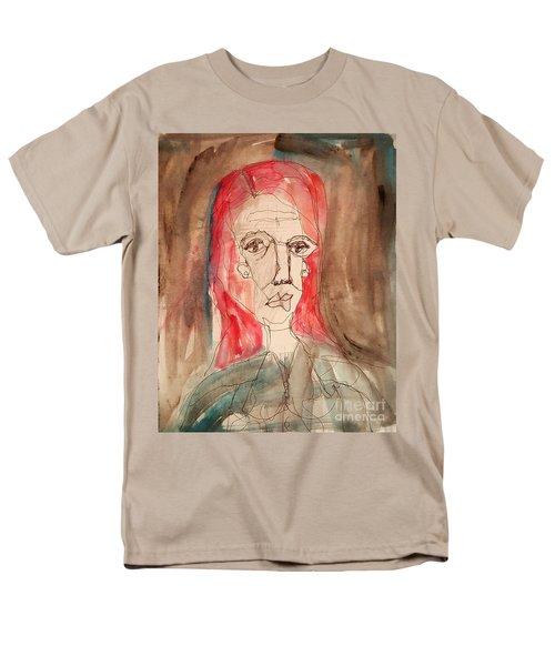 Red Headed Stranger Men's T-Shirt  (Regular Fit) by A K Dayton