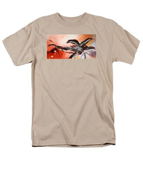 Red Ikebana Men's T-Shirt  (Regular Fit)