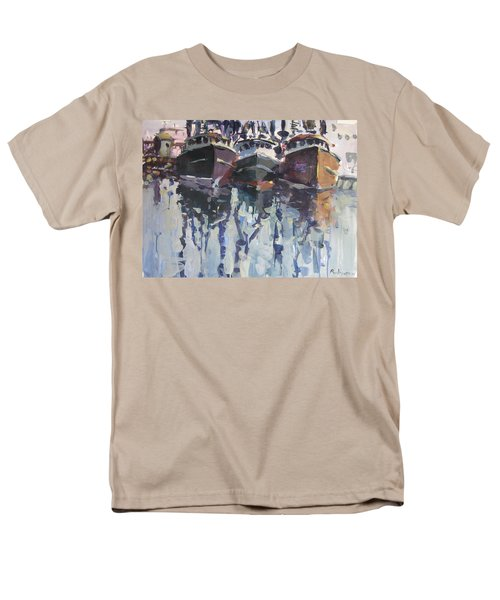 Men's T-Shirt  (Regular Fit) featuring the painting Reflections II by Robert Joyner