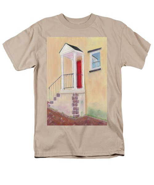 Men's T-Shirt  (Regular Fit) featuring the painting Reflections Of Baltimore by Arlene Crafton