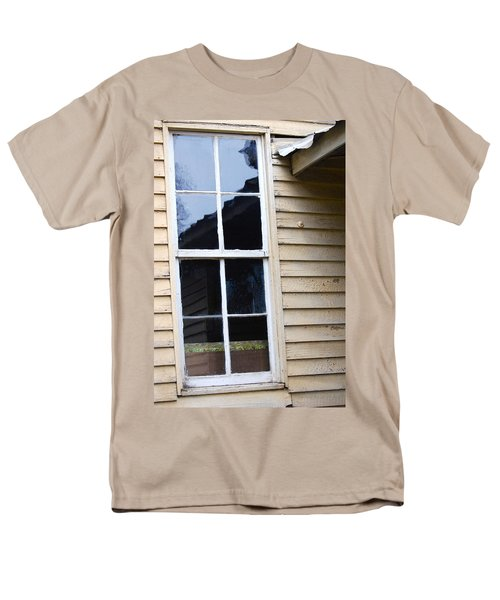 Men's T-Shirt  (Regular Fit) featuring the photograph Reflections Of The Past by Debbie Karnes