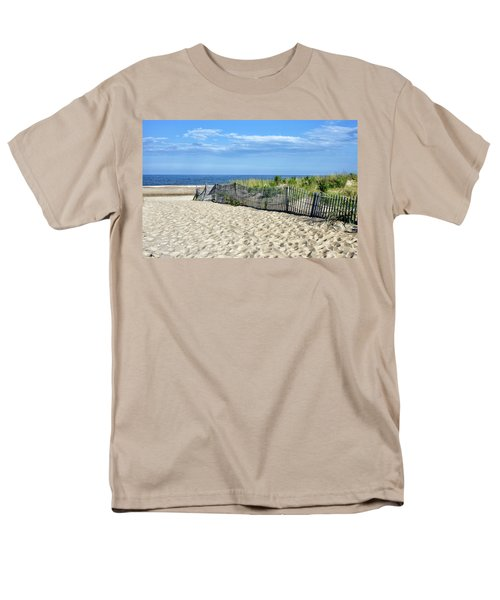 Men's T-Shirt  (Regular Fit) featuring the photograph Rehoboth Delaware by Brendan Reals