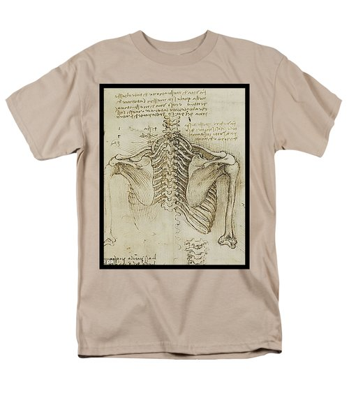 Ribcage Main Men's T-Shirt  (Regular Fit) by James Christopher Hill