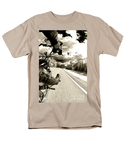 Ride To Live Men's T-Shirt  (Regular Fit) by Micah May