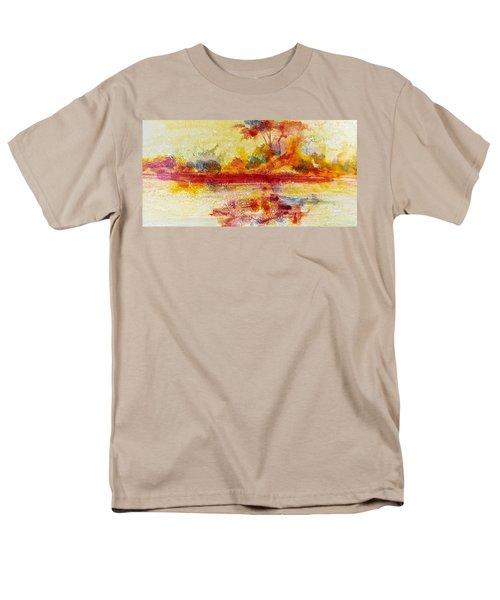 Riverscape In Red....part 2 Men's T-Shirt  (Regular Fit)