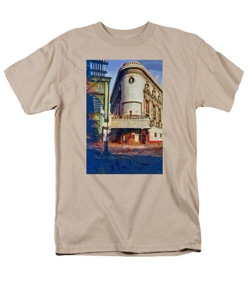 Rko Bushwick Theater 1974 Men's T-Shirt  (Regular Fit) by Kai Saarto