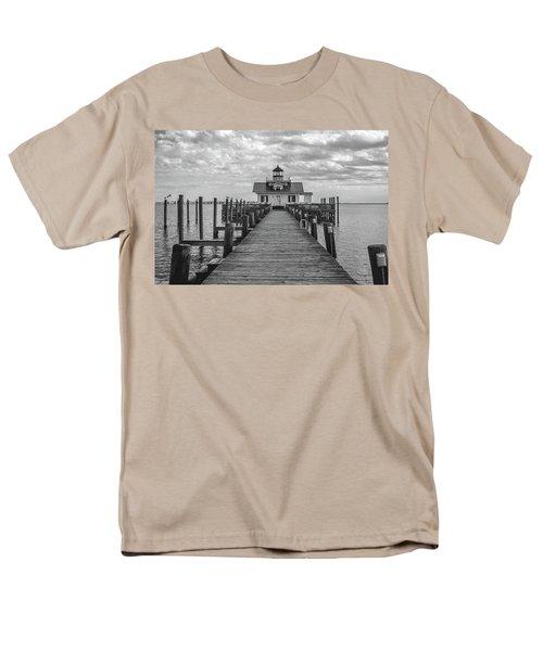 Roanoke Marshes Light Men's T-Shirt  (Regular Fit) by David Sutton