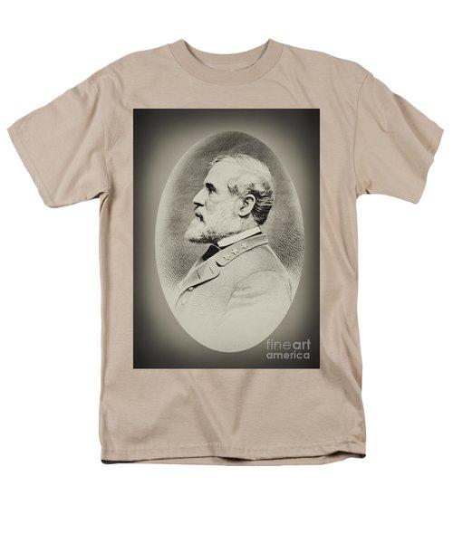 Robert E Lee - Csa Men's T-Shirt  (Regular Fit) by Paul W Faust -  Impressions of Light