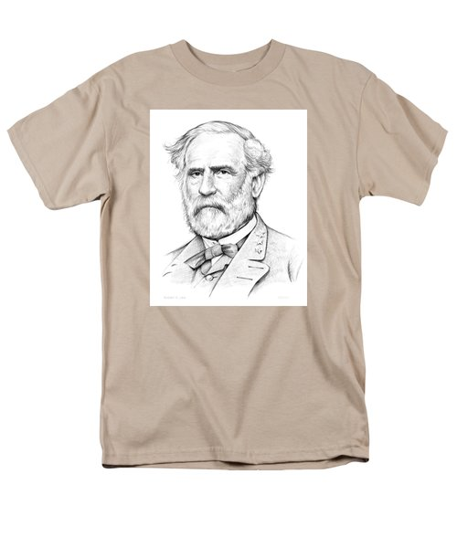 Robert E. Lee Men's T-Shirt  (Regular Fit) by Greg Joens