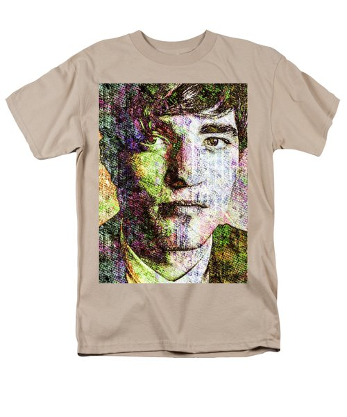 Robert Pattinson Men's T-Shirt  (Regular Fit) by Svelby Art