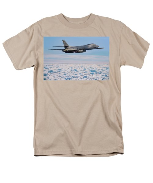 Rockwell B1 Lancer Men's T-Shirt  (Regular Fit) by Ken Brannen