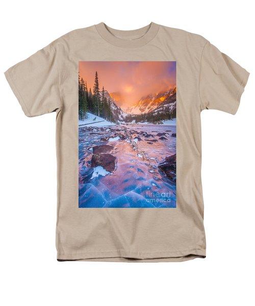 Rocky Mountain Sunrise Men's T-Shirt  (Regular Fit) by Steven Reed