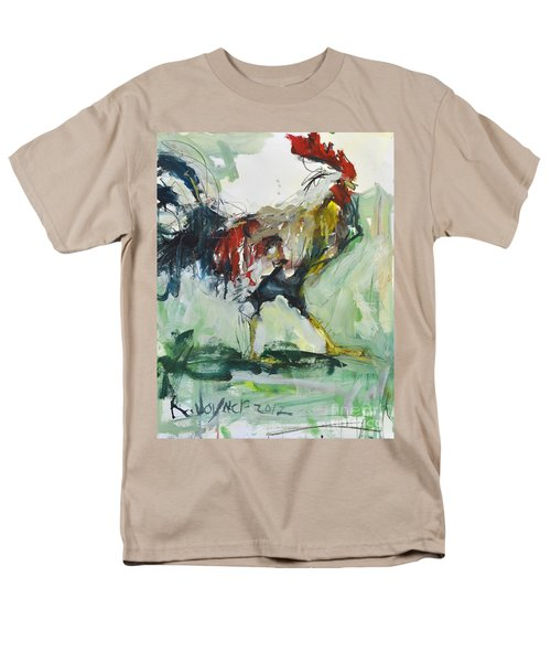 Rooster Painting Men's T-Shirt  (Regular Fit) by Robert Joyner