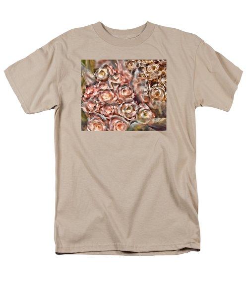 Rose Sparkle Men's T-Shirt  (Regular Fit)