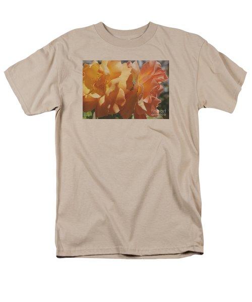Men's T-Shirt  (Regular Fit) featuring the photograph Roses by Cassandra Buckley