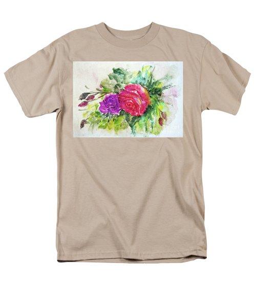 Roses For You Men's T-Shirt  (Regular Fit) by Jasna Dragun