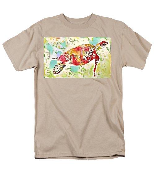 Ruby The Turtle Men's T-Shirt  (Regular Fit) by Erika Swartzkopf