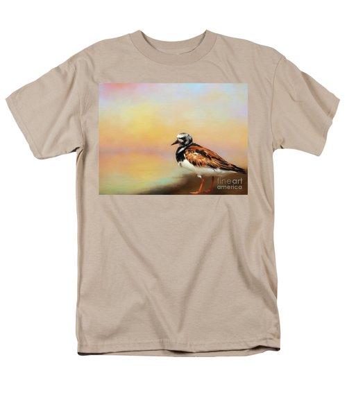 Ruddy Turnstone Men's T-Shirt  (Regular Fit) by Suzanne Handel