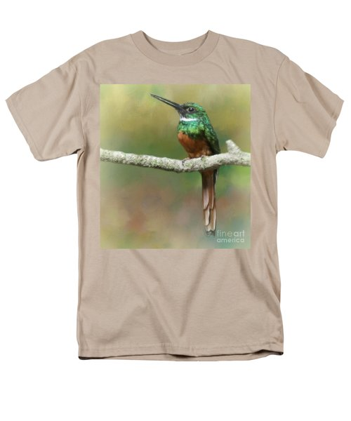 Rufus-tailed Jacamar Men's T-Shirt  (Regular Fit) by Myrna Bradshaw