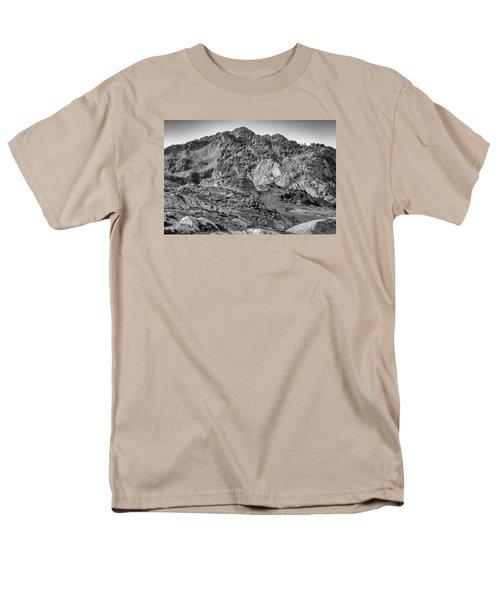 Rugged Mountains Men's T-Shirt  (Regular Fit) by Sabine Edrissi