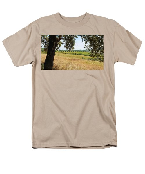 Men's T-Shirt  (Regular Fit) featuring the photograph Rural Tuscany by Valentino Visentini