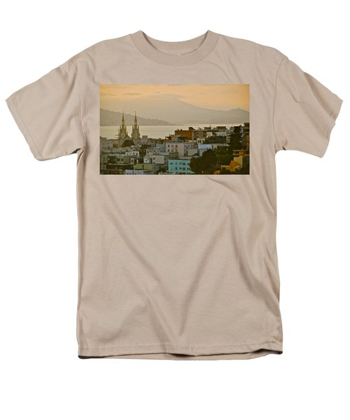 Saints Peter And Paul Spires Men's T-Shirt  (Regular Fit) by Eric Tressler
