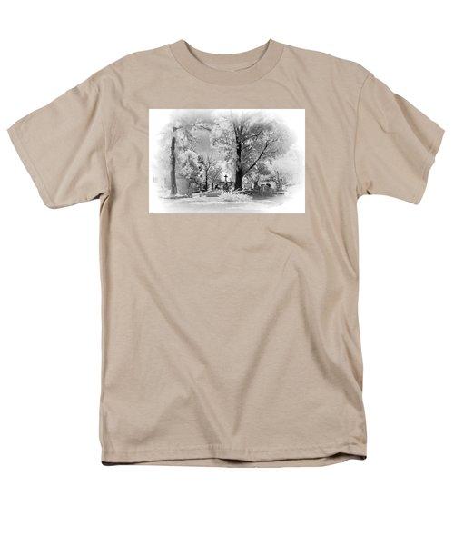 Men's T-Shirt  (Regular Fit) featuring the photograph San Jose De Dios Cemetery by Sean Foster