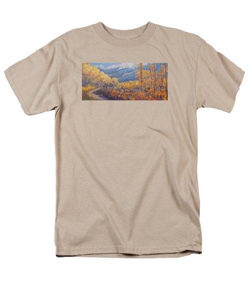 San Juan Mountain Gold Men's T-Shirt  (Regular Fit)