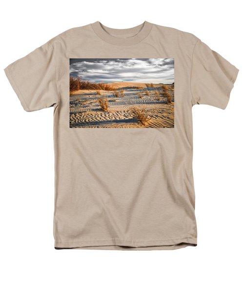 Sand Dune Wind Carvings Men's T-Shirt  (Regular Fit)