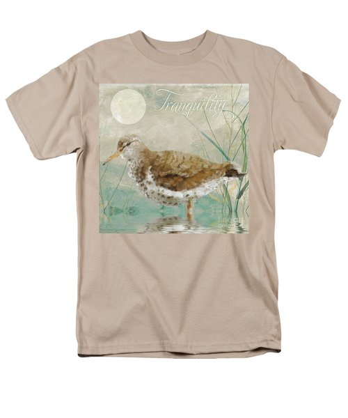 Sandpiper II Men's T-Shirt  (Regular Fit) by Mindy Sommers