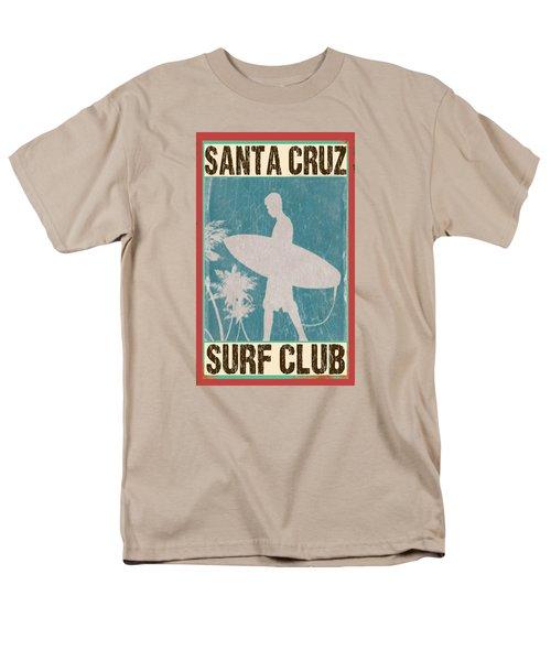Santa Cruz Surf Club Men's T-Shirt  (Regular Fit)