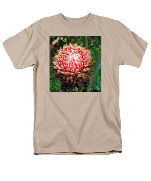 Sao Tome Blosssom Men's T-Shirt  (Regular Fit) by John Potts