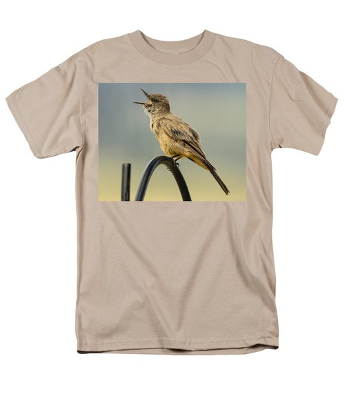Say's Phoebe Singing Men's T-Shirt  (Regular Fit) by John Brink