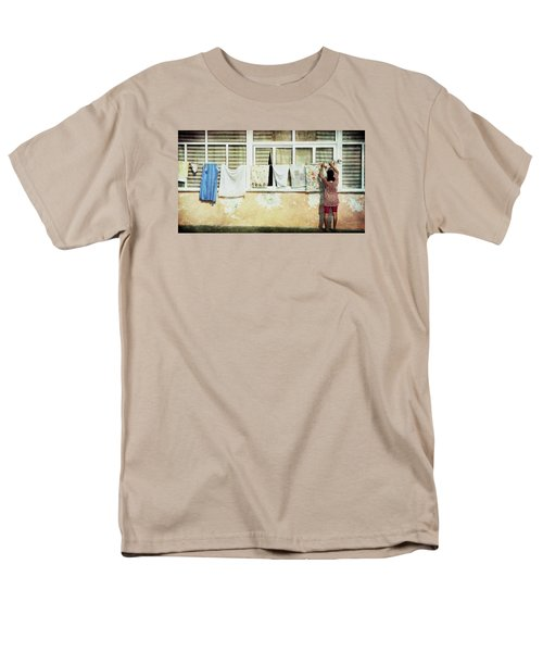 Scene Of Daily Life Men's T-Shirt  (Regular Fit) by Vittorio Chiampan