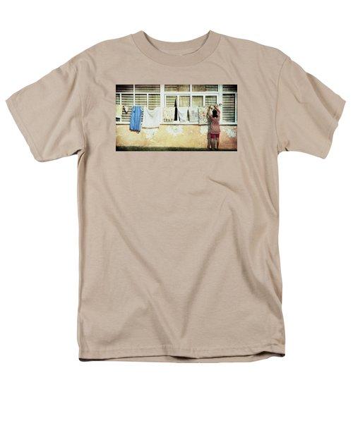 Scene Of Daily Life Men's T-Shirt  (Regular Fit)