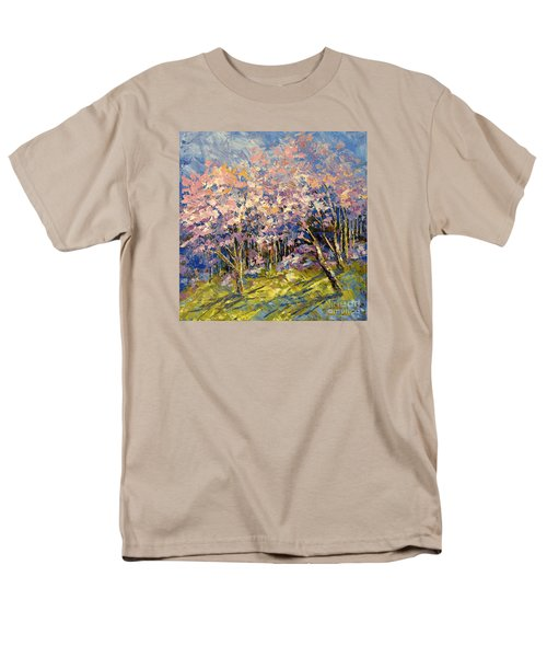 Men's T-Shirt  (Regular Fit) featuring the painting Scented Blooms by Tatiana Iliina