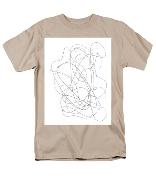 Scribble For Grin And Bear It Men's T-Shirt  (Regular Fit) by Ismael Cavazos
